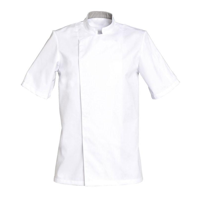 Veste de cuisine blanche Mixte - SNV COOKIE MC