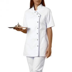 Tunique de travail blanche Femme - ODILE SNV
