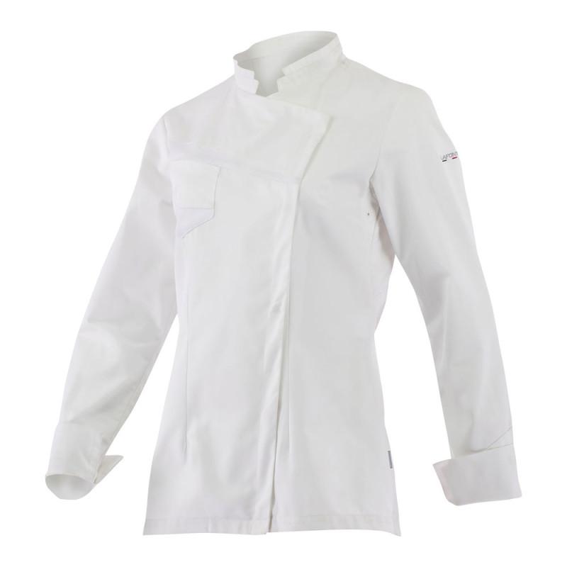 Veste de cuisine blanche Femme - NUTMEG LAFONT