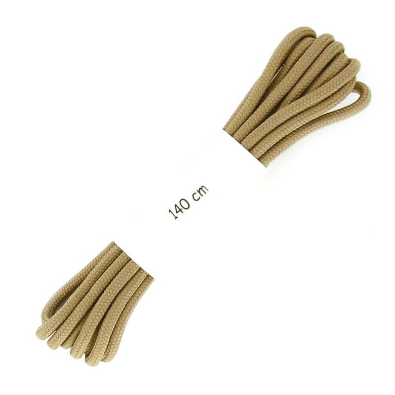 Lacets renforcées beiges 140 cm S24 - LACBAG140