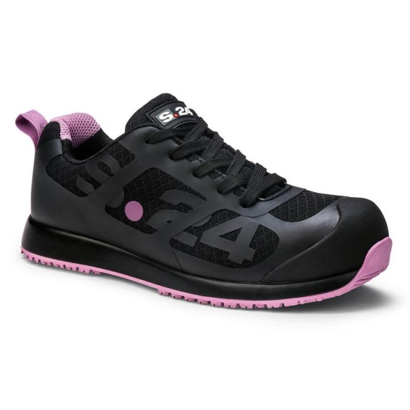 Baskets de Sécurité noires Femme S1P  - SALSA S24