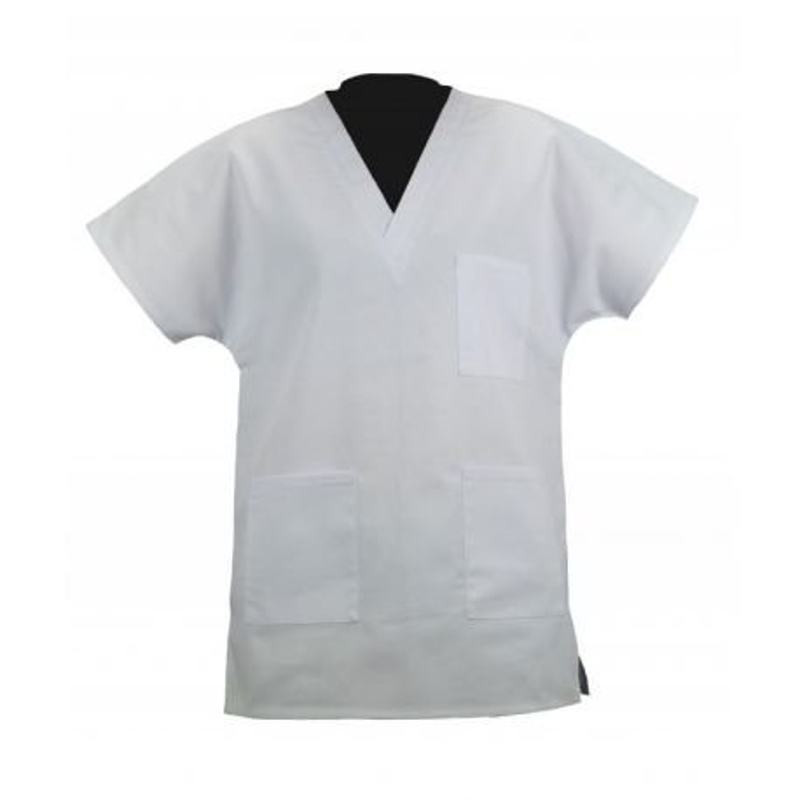 Tunique médicale blanche - PBV 03BMX250