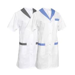 Blouse médicale Femme col châle - SNV ALICE