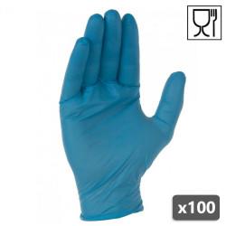 Gants Nitrile à usage unique - Boite de 100 - AUU4010 SINGER SAFETY