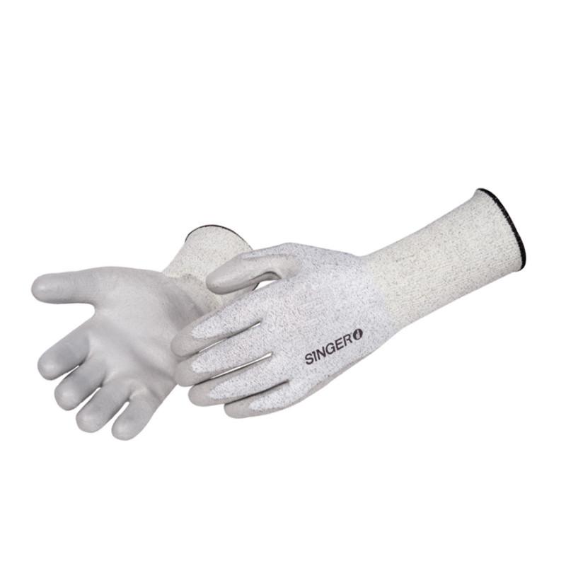 Gants anti-coupure enduction souple polyuréthane - SINGER SAFETY