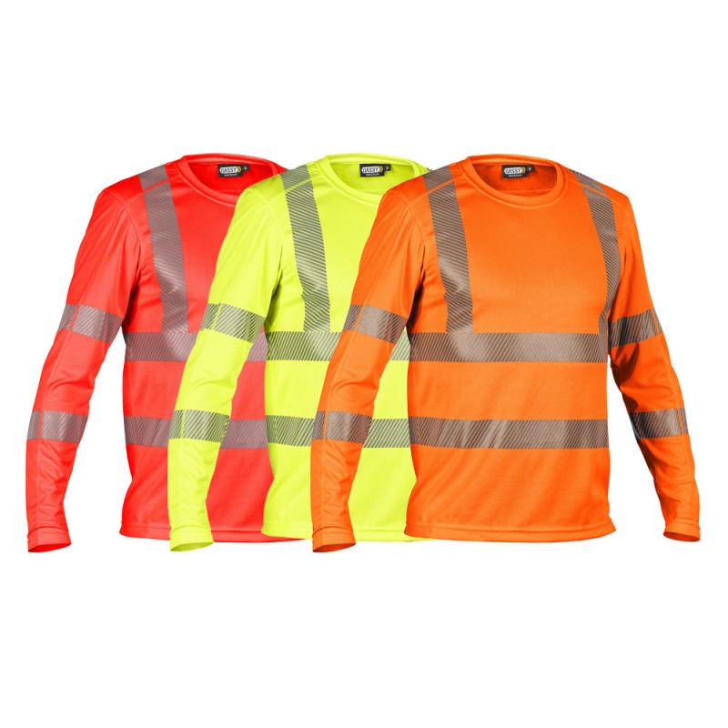 T-shirt haute visibilité manches longues anti-UV - DASSY CARTERVILLE