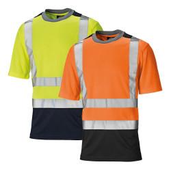 T-shirt de travail haute visibilité DICKIES - Classe 2