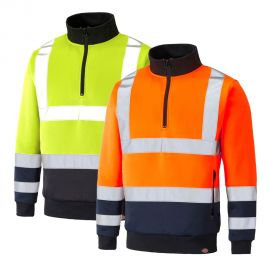 Sweat haute visibilité DICKIES TWO TONE - Classe 2