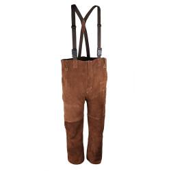 Pantalon de soudeur en cuir avec bretelles SINGER SAFETY