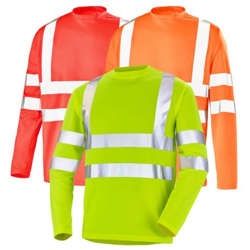 Tee shirt haute visibilité manches longues - CEPOVETT FLUO BASE 2