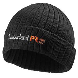 Bonnet de travail Timberland noir en polyester recyclé