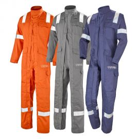Combinaison professionnelle 2 zip Atex Reflect 260 - CEPOVETT SAFETY
