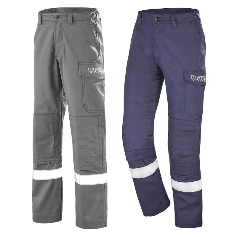 Pantalon multirisques avec poches genoux Atex Reflect 260 - CEPOVETT