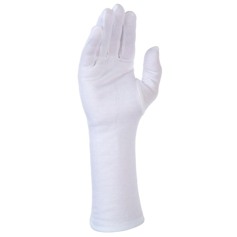 Gants coton interlock long avec ourlet - SINGER SAFETY
