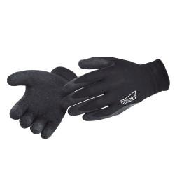 Gants de protection noirs manutention légère - PROSUR