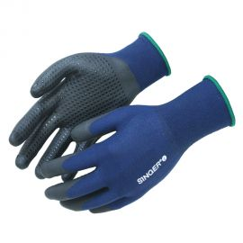 Gants de manutention bleu - SINGER SAFETY