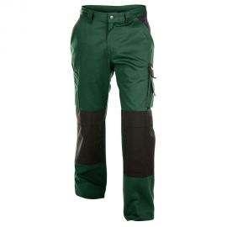 Pantalon de travail vert Dassy BOSTON 245