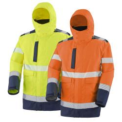 Parka haute visibilité 4 en 1 classe 3 MATRA - CEPOVETT SAFETY