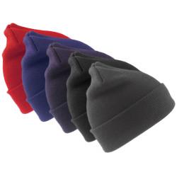 Bonnet tricoté 100% acrylique - WOOLLY