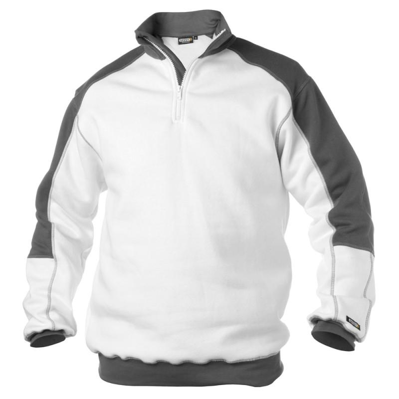 Sweat-shirt bicolore pour peintre - DASSY BASIEL