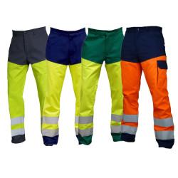 Pantalon haute visibilité classe 2 sans métal - 01TYHV PBV