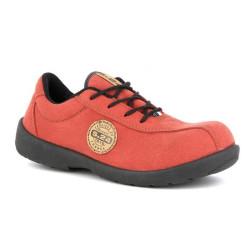 Chaussures de sécurité basses Femme S1P - ELSA ROUGE S24