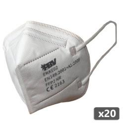 20 x Masque respiratoire FFP2 à usage unique