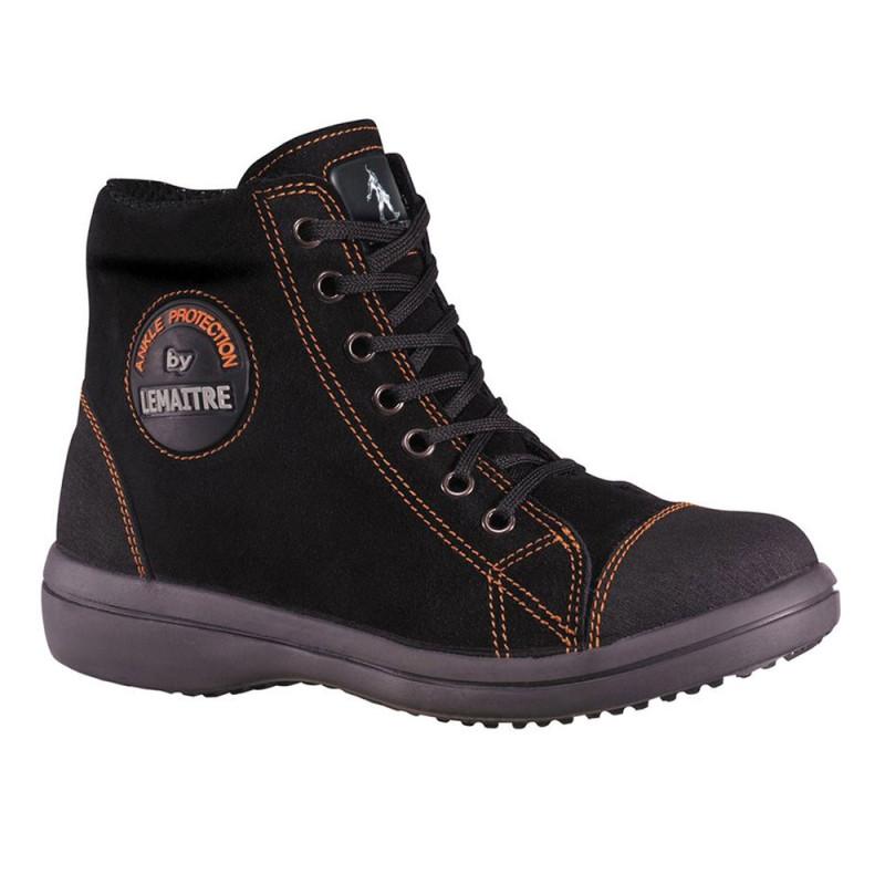 Chaussure de sécurité femme montante S3 - VITAMINE NOIR LEMAITRE