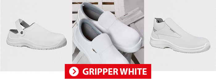 Collection GRIPPER WHITE AIMONT Chaussures de sécurité