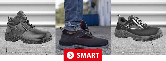 Collection SMART AIMONT Chaussures de sécurité