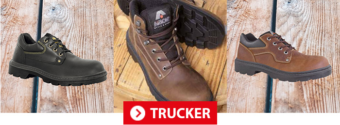 Collection TRUCKER AIMONT Chaussures de sécurité