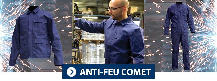 Collection COMET PBV vêtement anti feu