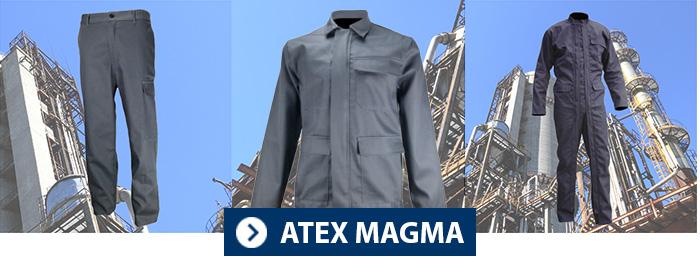 Collection MAGMA PBV tenue atex