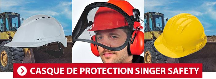 Casques de chantier Singer Safety