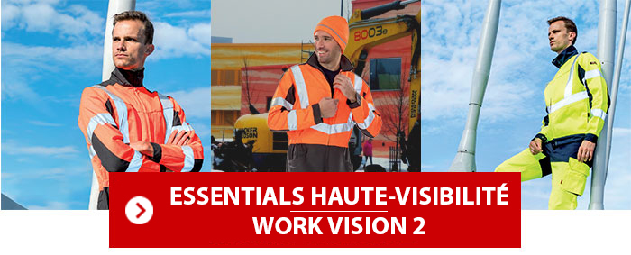 Collection Essentials Haute Visibilité Work Vision 2 Lafont