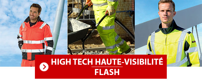 Collection High Tech Haute Visibilité Flash Lafont