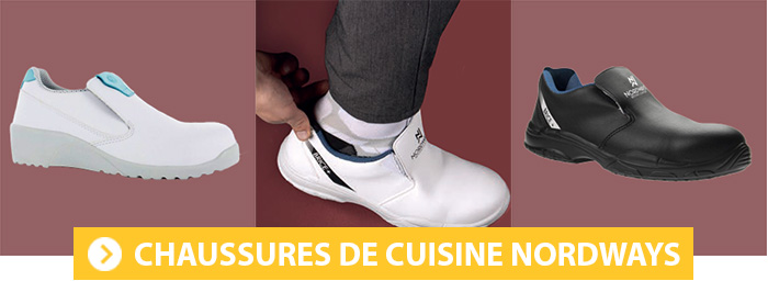 Chaussures de cuisine Nordways