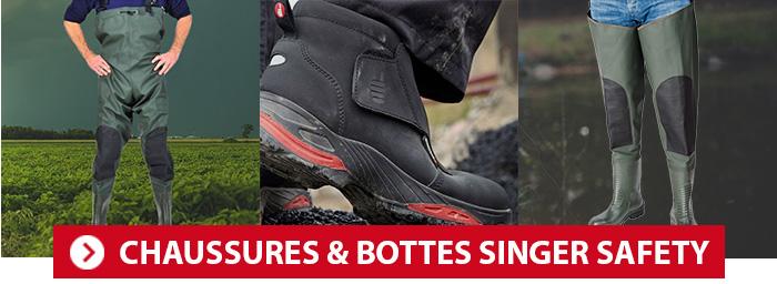 Chaussures de sécurité et bottes Singer Safety