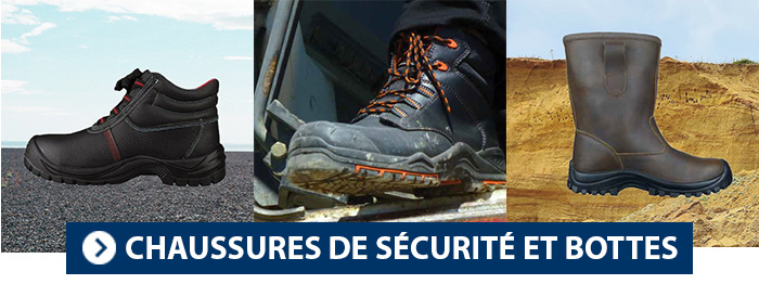 Collection Chaussures Sécurité et bottes PBV