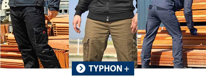 Collection TYPHON + Vêtement de travail PBV