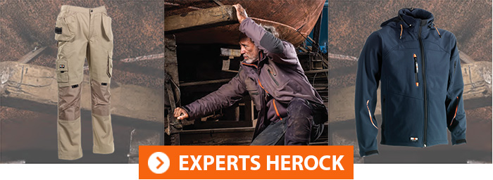 Tenues de travail Herock Experts