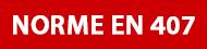 Norme EN 407 Gants protection risques thermiques
