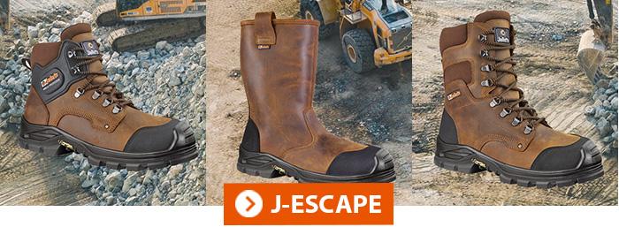 Collection J-ESCAPE JALLATTE chaussures BTP
