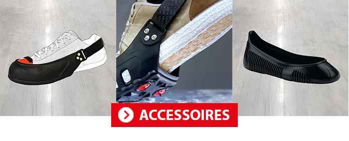 Sur-chaussures de sécurité et accessoires S24
