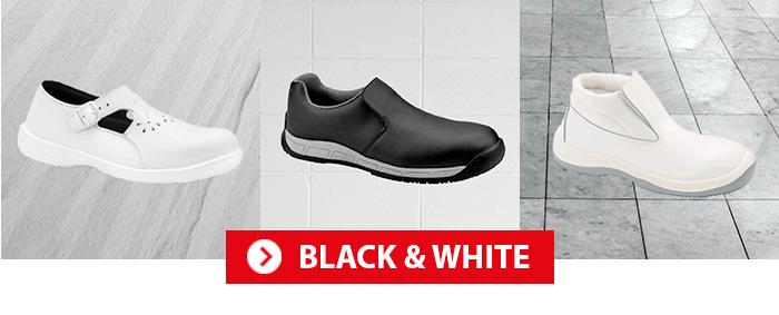 Chaussures de travail S24 Black & White