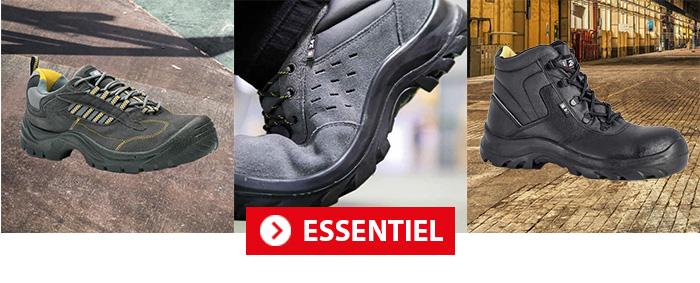 Collection Essentiel Chaussures de sécurité S24