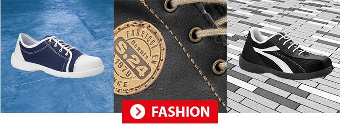 Collection Fashion Chaussures de sécurité femme S24