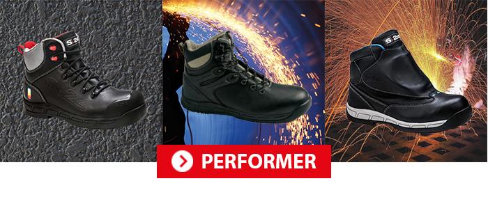 Collection Performer Chaussures de sécurité S24