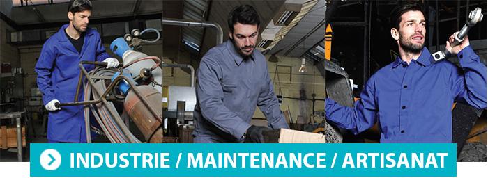Vêtement de travail SNV industrie maintenance