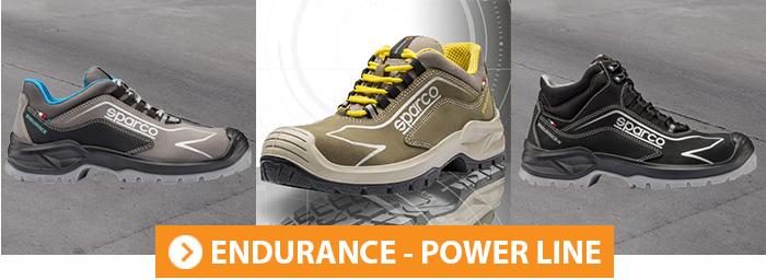 Collection chaussures de sécurité ENDURANCE SPARCO